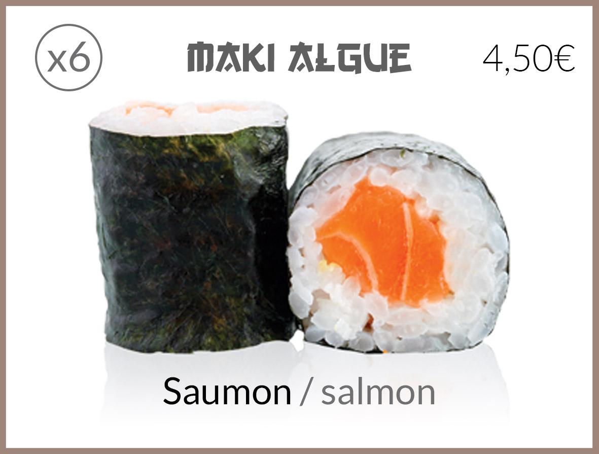 algue saumon