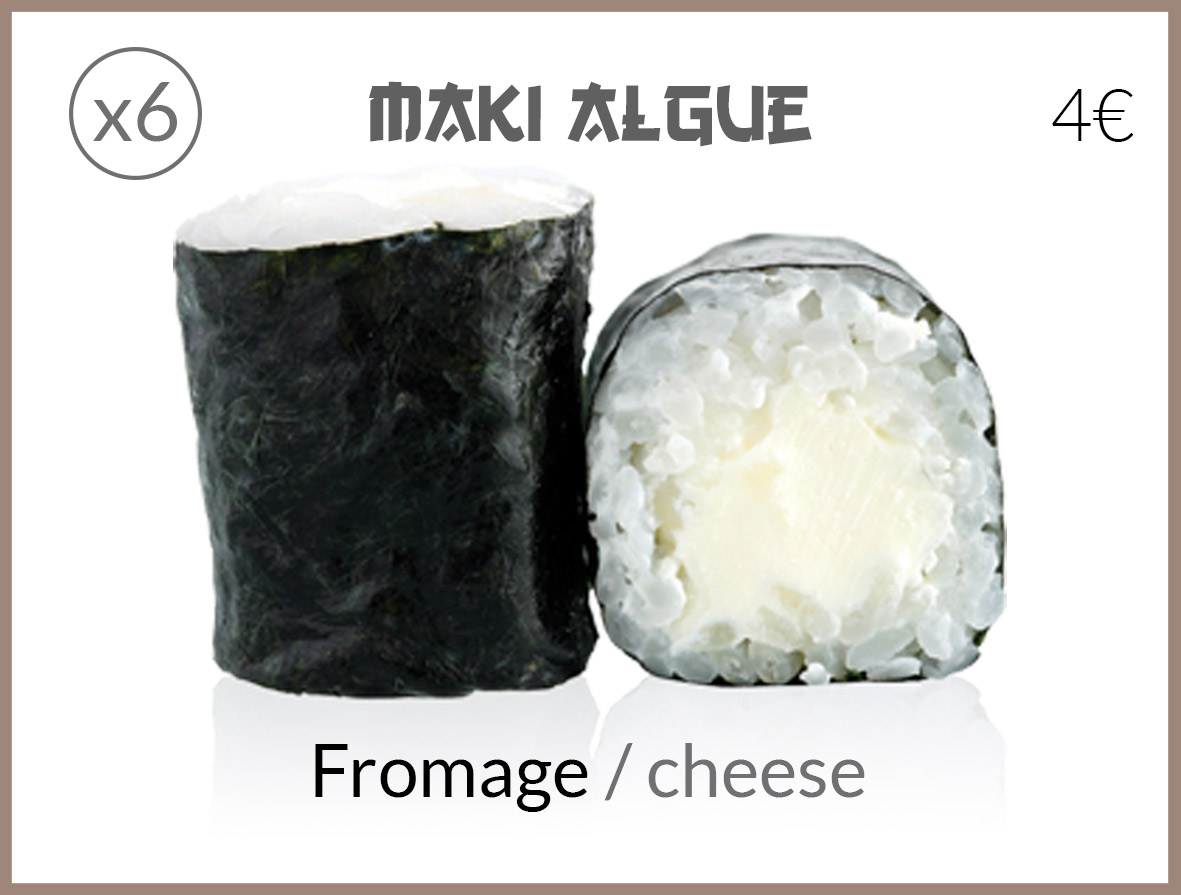 algue fromage