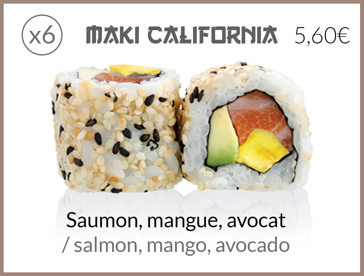 cali saumon mangue avocat