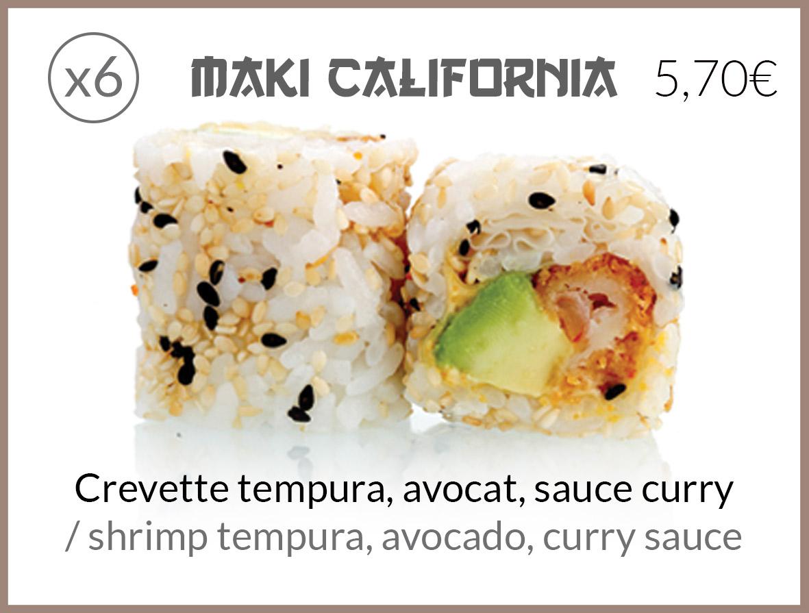 cali tempura sauce curry