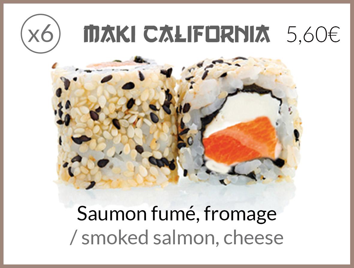 cali saumon fume fromage