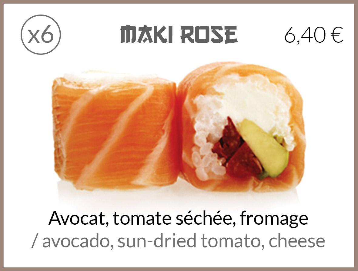 maki tomate sechee