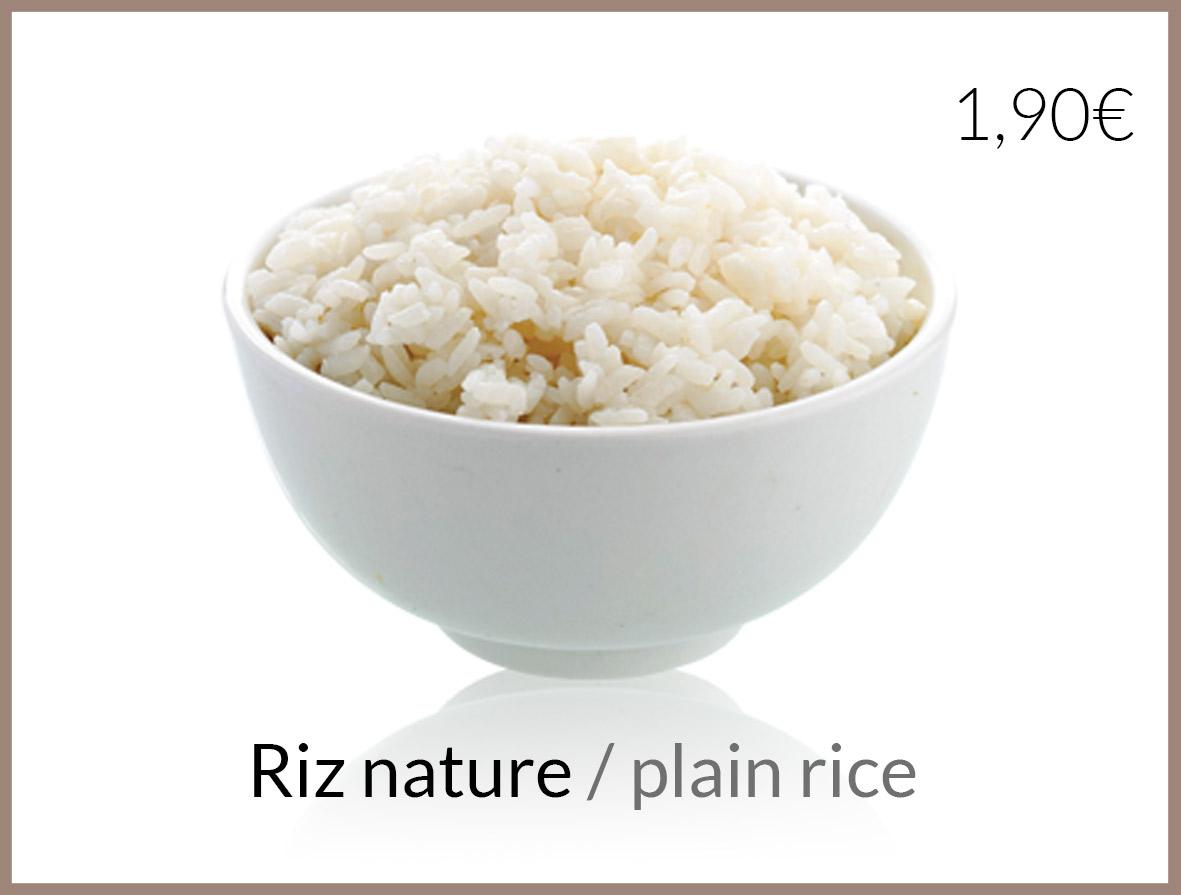 salade riz nature