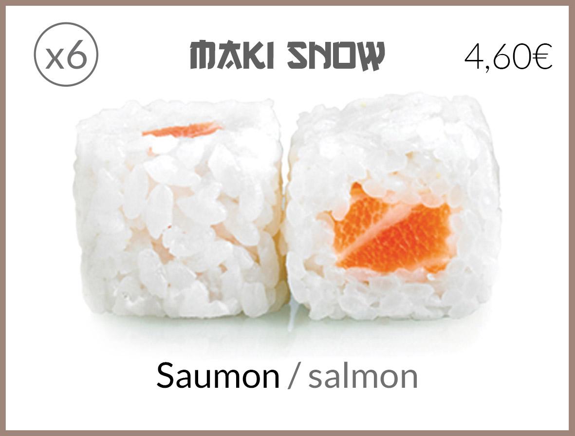 snow saumon