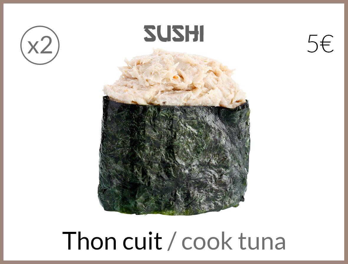 sushi tartare de thon