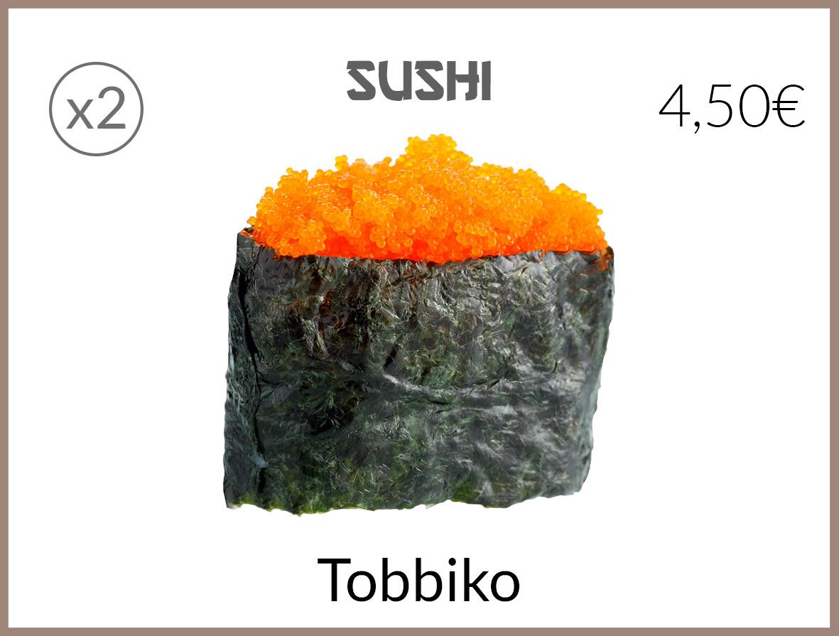 sushi tobbiko
